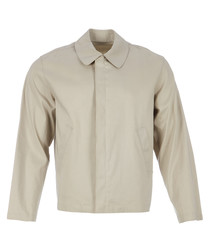 Men's naturale cotton blend jacket