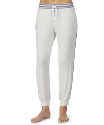 Grey long lounge trousers