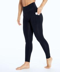 jenni navy cotton blend leggings