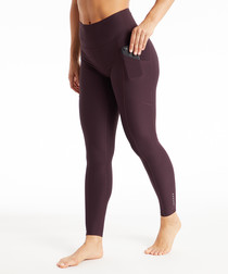 reflect burgundy leggings