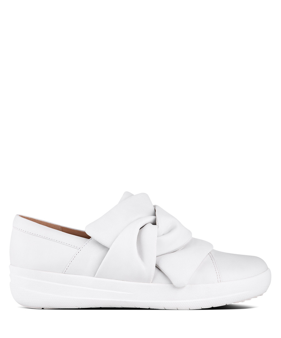 F-Sporty urban white bow sneakers Sale - fitflop