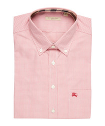 men's peony rose pure cotton shirt