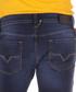 Larkee dark wash cotton straight jeans Sale - diesel Sale