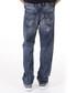 Waykee dark wash cotton relaxed jeans Sale - diesel Sale