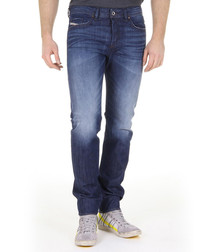 Buster 34 leg cotton straight jeans
