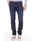 Thavar-Zip dark blue pure cotton Jeans Sale - diesel Sale
