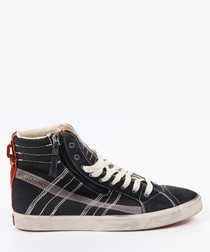 D-Velows D-String Black Sneakers