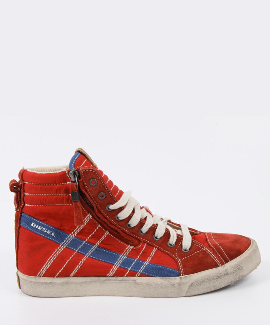 D-Velows D-String Red Sneakers Sale - diesel