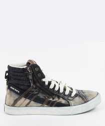 D-String Denim cotton blend Sneakers