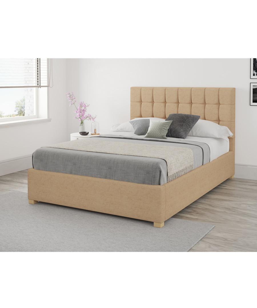 Stupendous Discount Larkin Superking Velvet Ottoman Bed Secretsales Ibusinesslaw Wood Chair Design Ideas Ibusinesslaworg