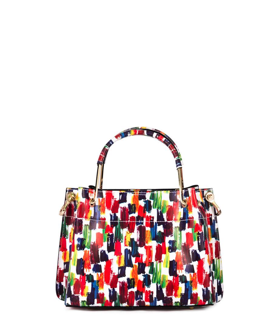 Multi-colour smudge leather shopper Sale - anna morellini
