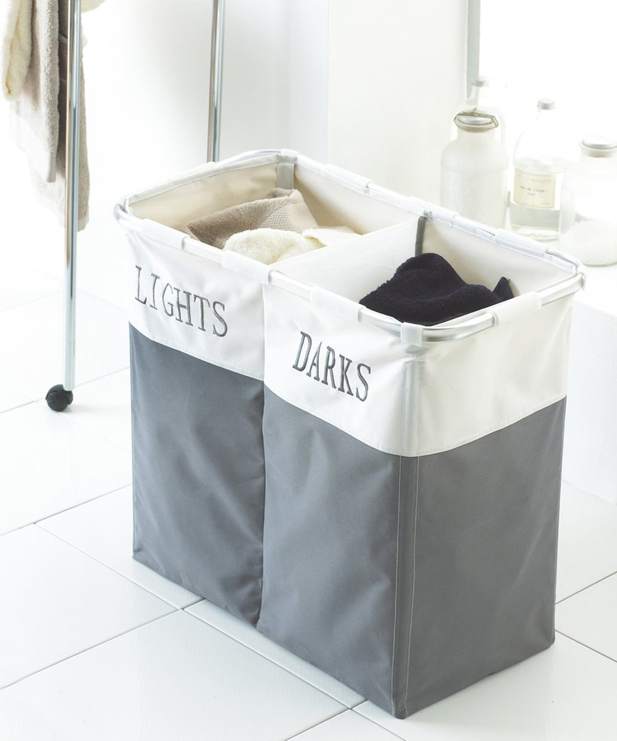 Split fabric laundry basket Sale - dynergy