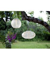 Festival hanging solar lantern 25cm