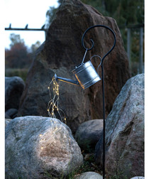 Watering can solar lamp 80cm