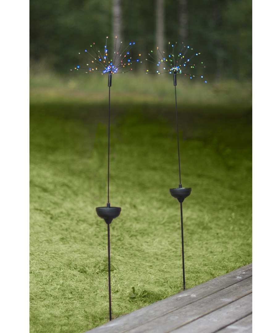 Firework multi-colour solar lamp 100cm Sale - solar lighting