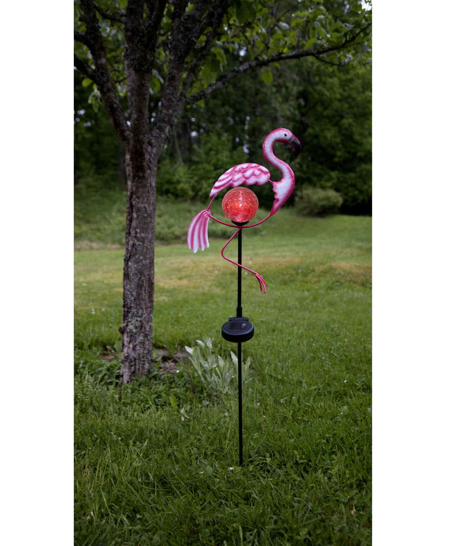 Flamingo solar lamp 80cm Sale - solar lighting