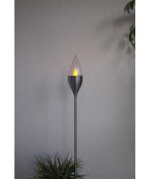 Olympos steel solar lamp 115cm