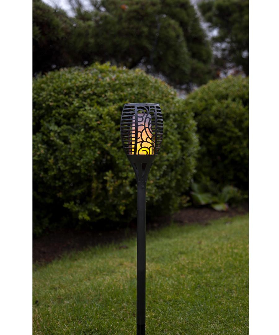 fretwork flicker solar lamp 57cm Sale - solar lighting