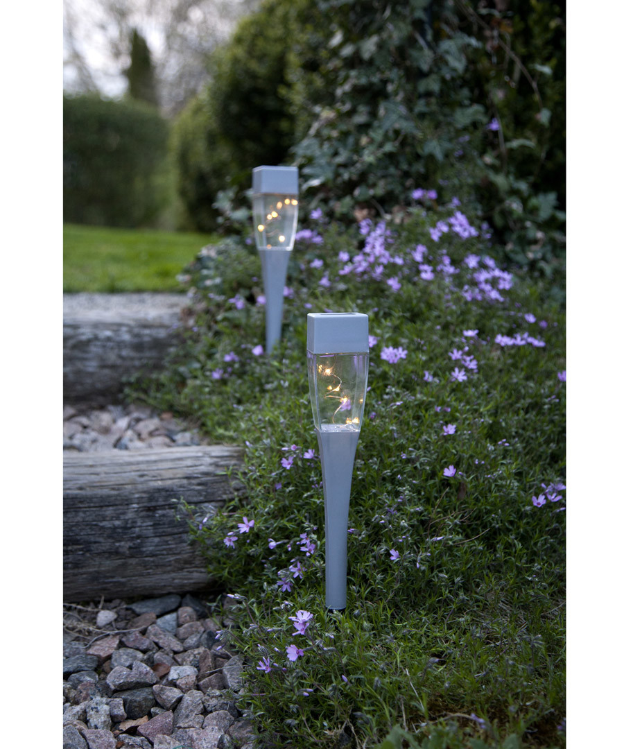 3pc Hellas solar path lights 27cm Sale - solar lighting