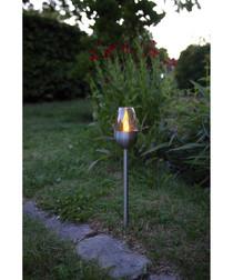 3pc Toulon solar path lights 37cm