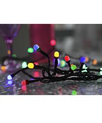 Multi-colour LED party string 4m