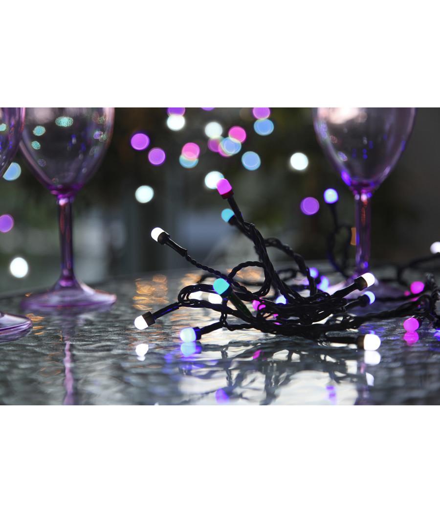 Purples LED party string 4m Sale - solar lighting