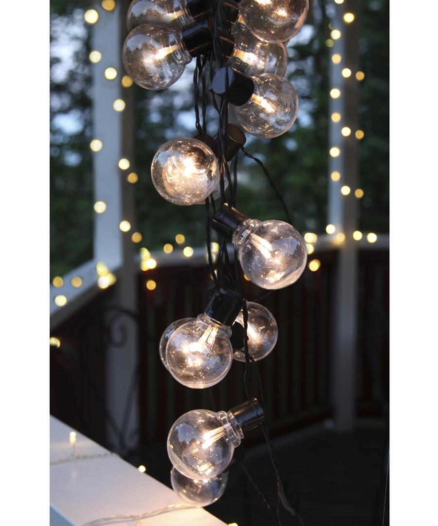 16-LED bauble chain 4.5m Sale - solar lighting