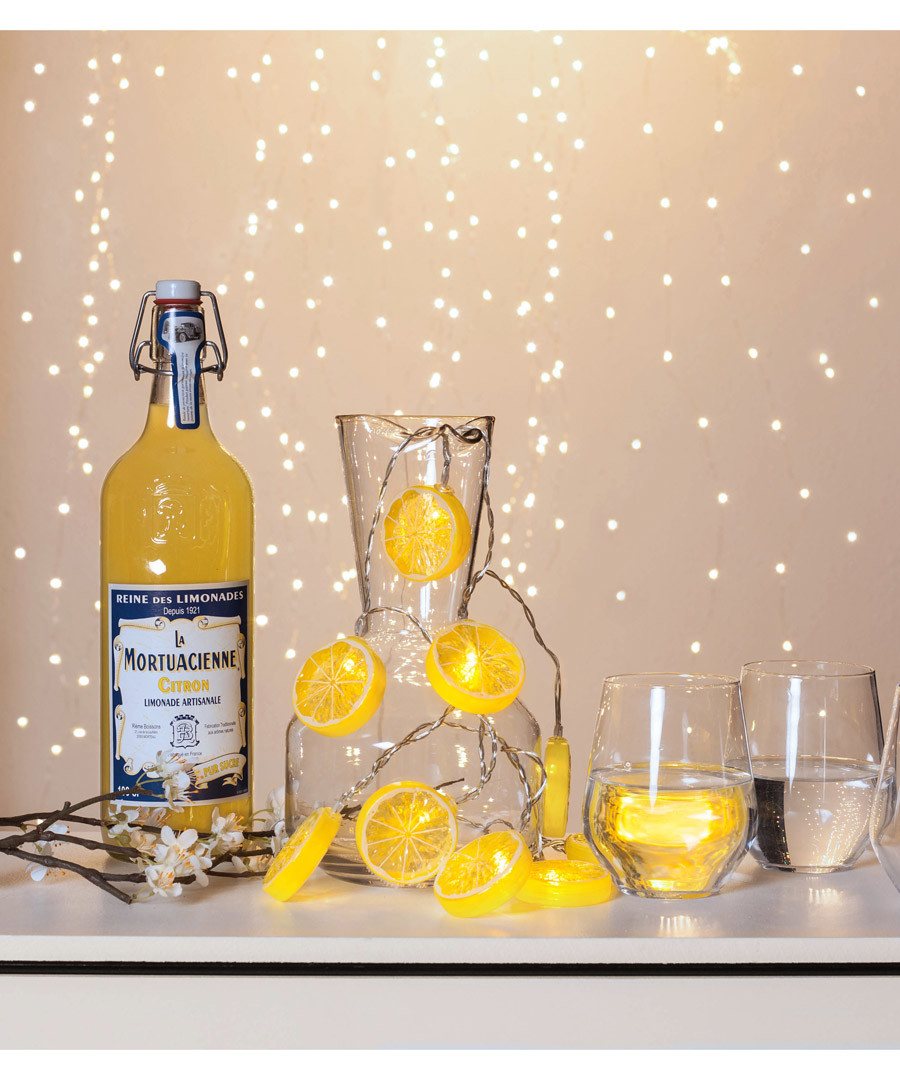 Lemons 10-LED chain 1.35cm Sale - solar lighting