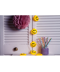 Smiley 10-LED chain 1.05m