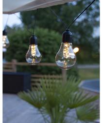 LED bulb chain 4.05m