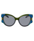 Olive & marine cateye sunglasses Sale - prada Sale