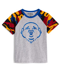 Buddha Camo pure cotton T-shirt