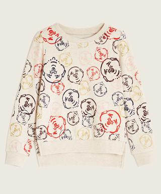 e7e9f47bd Doodle white pure cotton hoodie Sale - true religion Sale