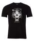 Black tiger print T-shirt Sale - just cavalli Sale