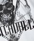 White skull print T-shirt Sale - just cavalli Sale