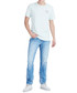 Geno ice blue pure cotton slim jeans Sale - true religion Sale
