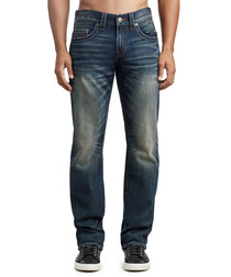 Dweller pure cotton straight jeans