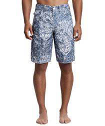 Big T crashing waves board shorts