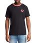 Black pure cotton graphic T-shirt Sale - true religion Sale