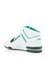 Whte & dark green leather logo sneakers Sale - lacoste Sale
