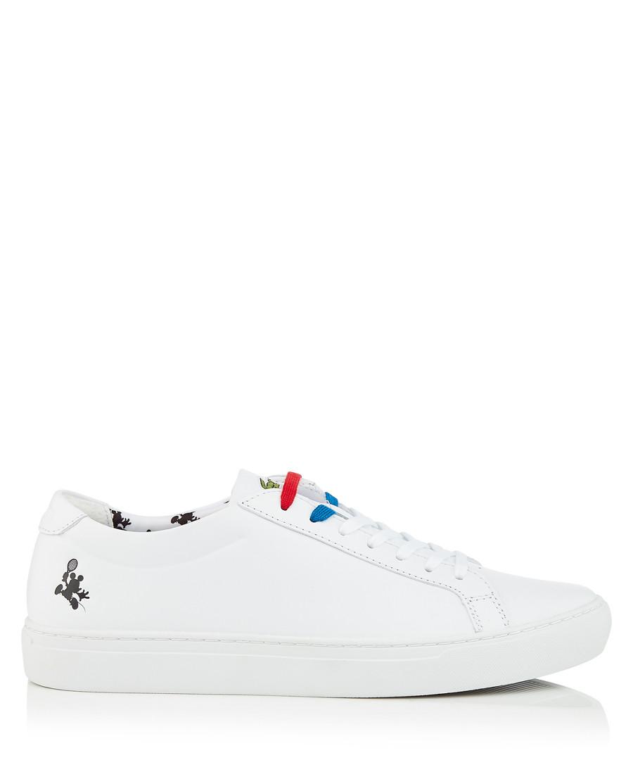 White logo sneakers Sale - lacoste
