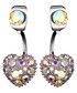 Brilliant Heart iridescent earrings Sale - caromay Sale