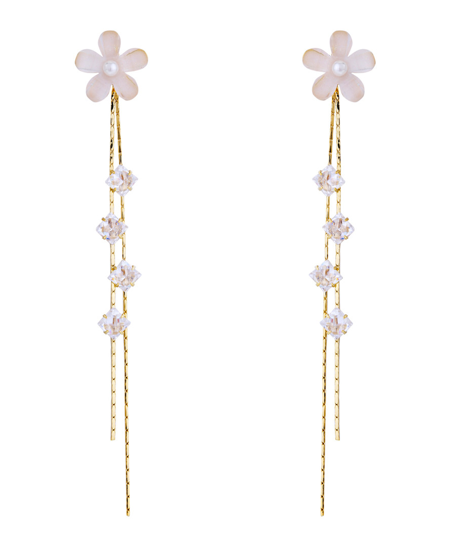 Sweet Memory gold-plated earrings Sale - caromay