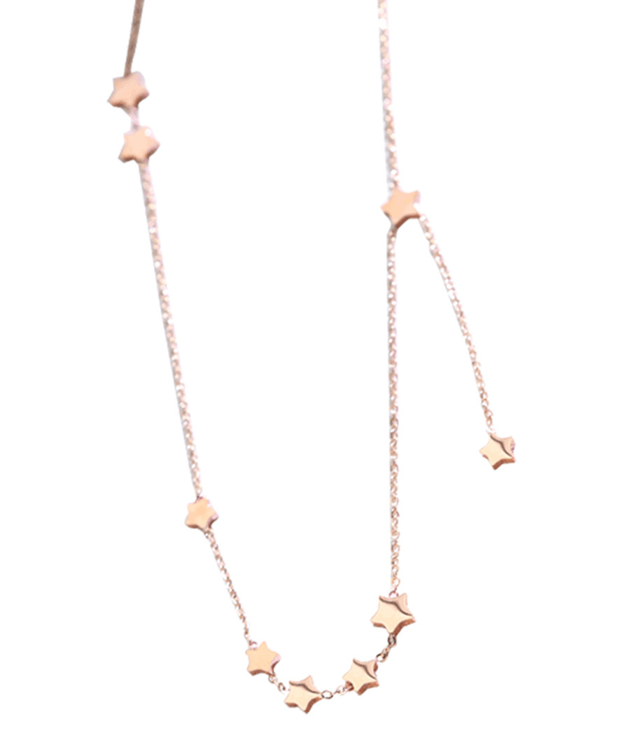 Star River rose gold-tone necklace Sale - caromay