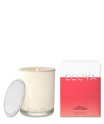 Guava & lychee candle