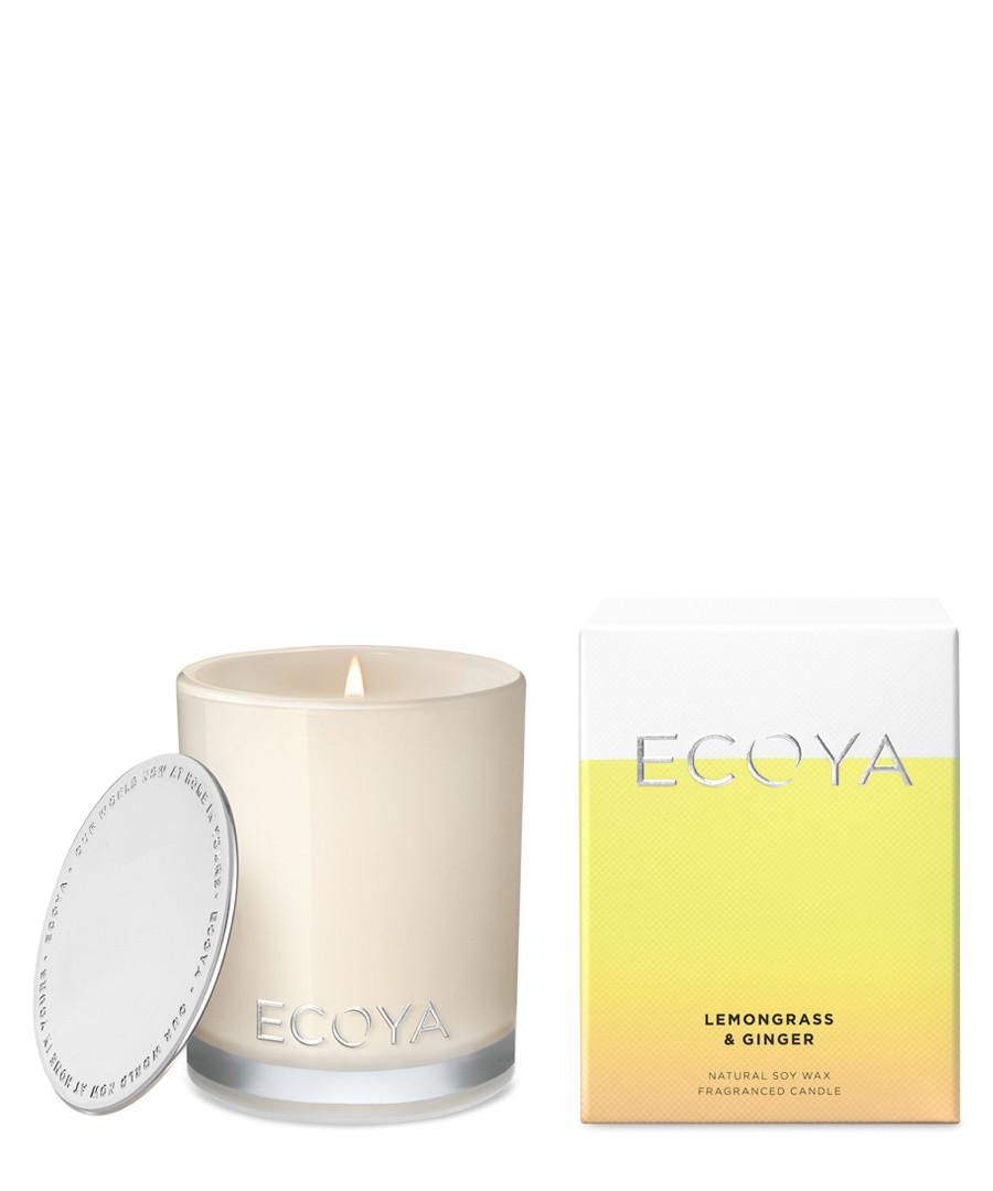Mini Madison lemongrass & ginger candle Sale - ecoya