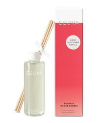 Guava & lychee reed diffuser refill