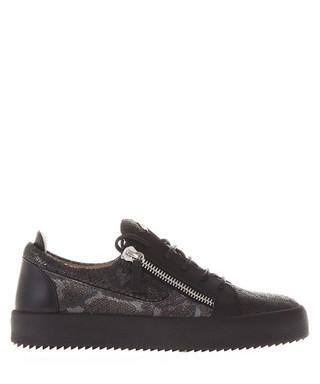 1b3a903e0b2bd frankie python printed leather sneakers fw 2017 Sale - giuseppe zanotti Sale