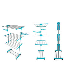 Super deluxe three-tier clothes airer