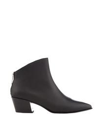 Bason black ankle boots